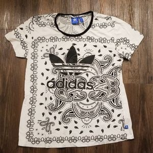 Adidas White Bandana T
